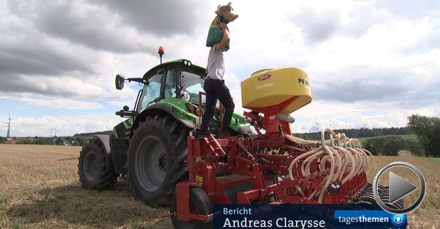 Tagesschau: Landwirte unter Zugzwang nach dritter ertragsarmer Ernte in Folge
