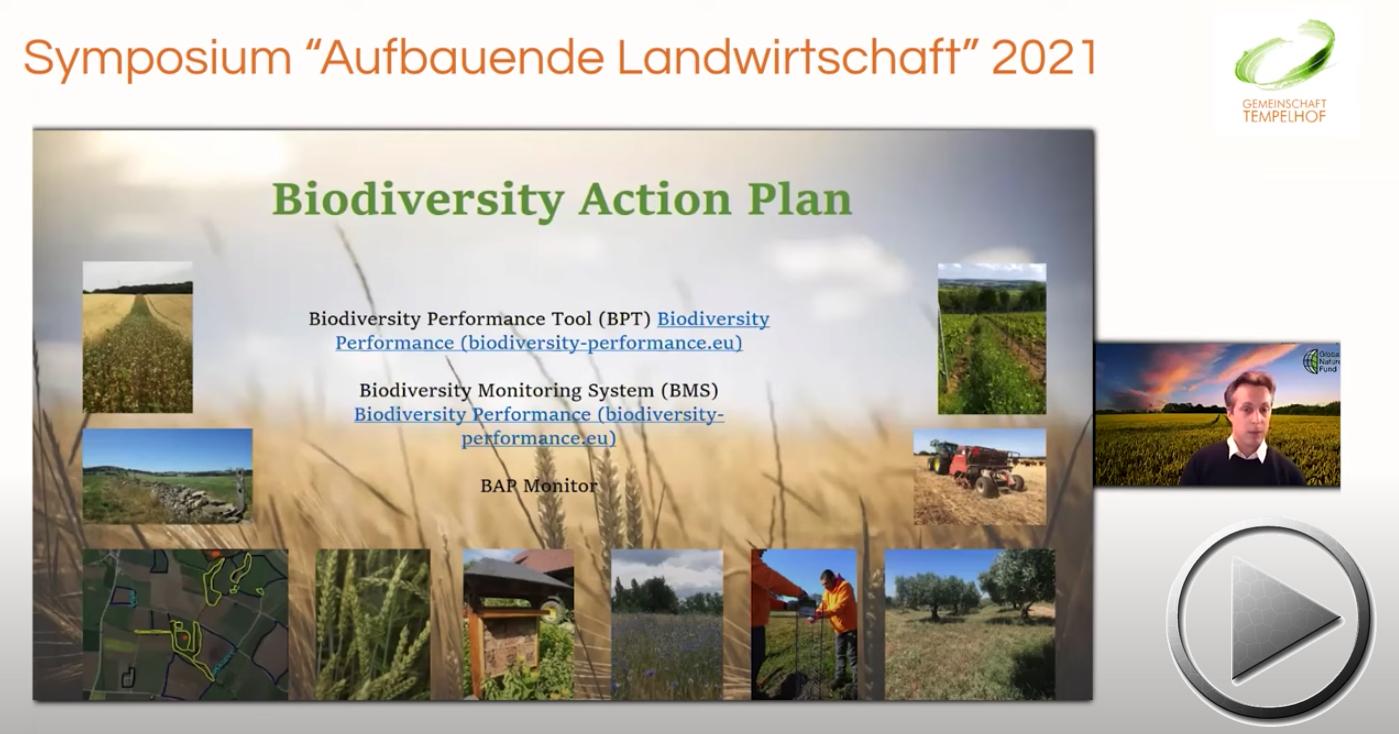 """Präsentation: Tobias Ludes // Den Handel im Wandel unterstützen // Symposium """"Aufbauende Landwirtschaft"""" 2021"""